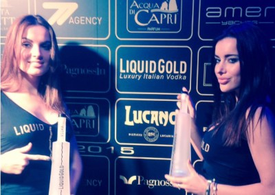 Liquid Gold @ San Remo Festival – February 10, 2015