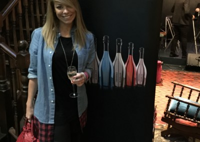 Celebrity Gifting Suite in London with LG Drinks (Library Members club)