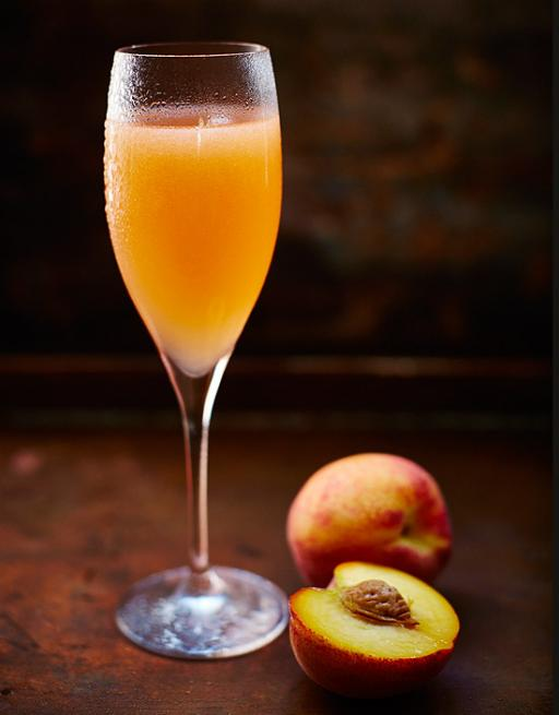 Christmas prosecco offer for our Blushing Bellini Christmas cocktail